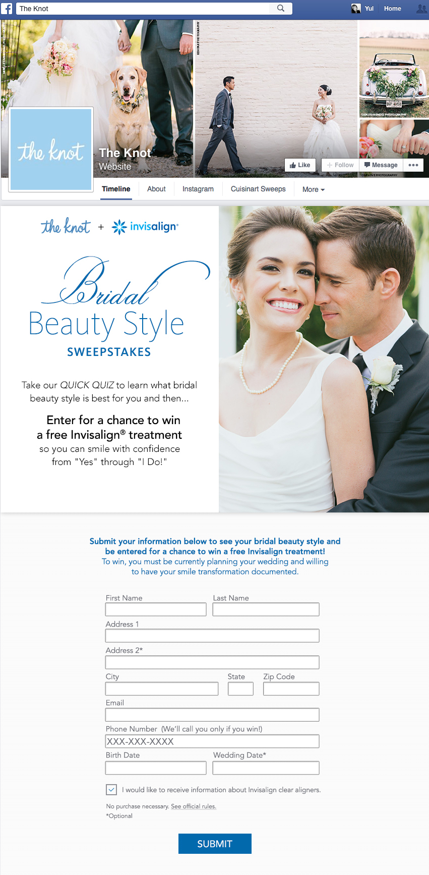 Invisalign Sweepstakes
